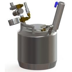 Druckbehälter 5 Liter mit Rührwerk